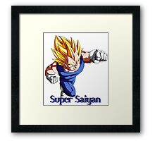 Super Saiyan VEGETA Framed Print