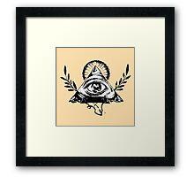 Masonic Icons Framed Print