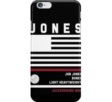 Jon Jones - Fight Camp Collection iPhone Case/Skin