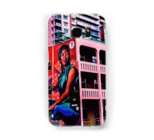 #StreetArt Light Square Samsung Galaxy Case/Skin