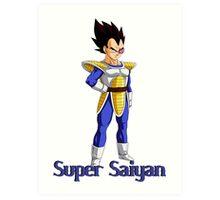 super Saiyan Art Print