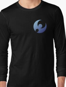 Pokemon Moon Logo Design Long Sleeve T-Shirt