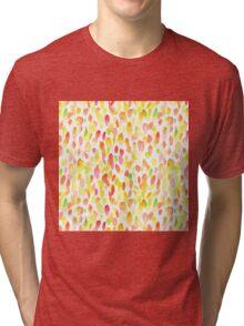 Watercolor spot pattern Tri-blend T-Shirt