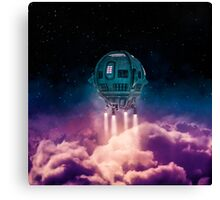 Out of the atmosphere Canvas Print