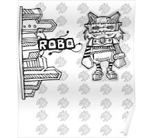 Robot House Poster