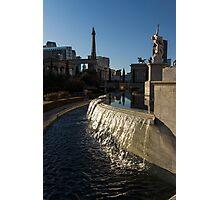 Sunny and Still - Las Vegas Morning at Caesars Palace Photographic Print