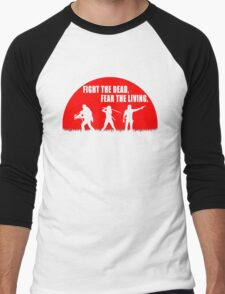 The walking dead - Rick - Daryl - Michonne Men's Baseball ¾ T-Shirt