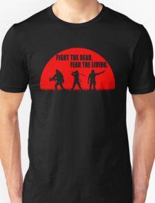 The walking dead - Rick - Daryl - Michonne Unisex T-Shirt