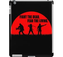 The walking dead - Rick - Daryl - Michonne iPad Case/Skin