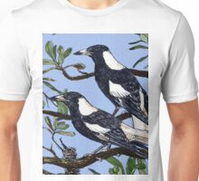Two Magpies Unisex T-Shirt