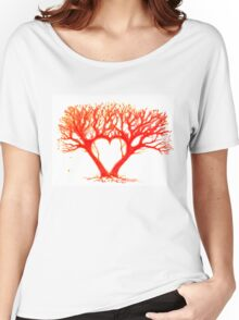 Heart Tree Women's Relaxed Fit T-Shirt