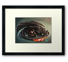 Dragon Master Framed Print