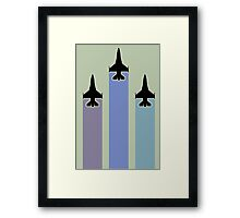 air force jet Framed Print