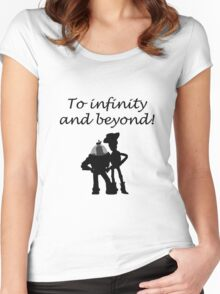 Toy Story Women's Fitted Scoop T-Shirt