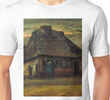 1885-Vincent van Gogh-The cottage-65,5x79 Unisex T-Shirt