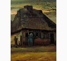1885-Vincent van Gogh-The cottage-65,5x79 Unisex T-Shirt