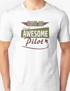 Awesome Pilot Unisex T-Shirt
