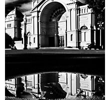 Puddle at the Exhibition Photographic Print