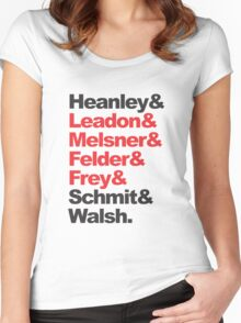 Glenn Frey and Eagles Women's Fitted Scoop T-Shirt