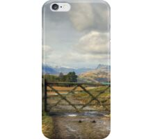 The Gate iPhone Case/Skin