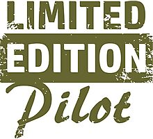 Limited Edition Pilot Photographic Print