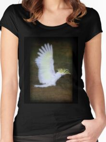 Cockatoo Women's Fitted Scoop T-Shirt