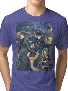 Renoir Auguste - The Umbrellas. Auguste Renoir Umbrellas Tri-blend T-Shirt