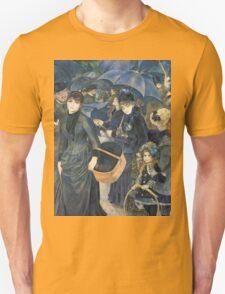 Renoir Auguste - The Umbrellas. Auguste Renoir Umbrellas Unisex T-Shirt