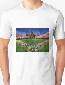 Spring Blooms in the Smithsonian Castle Garden Unisex T-Shirt
