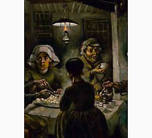 1885-Vincent van Gogh-The potato eaters Unisex T-Shirt