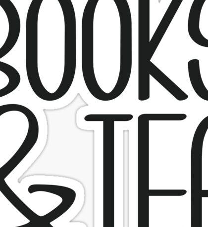 Books & Tea Sticker