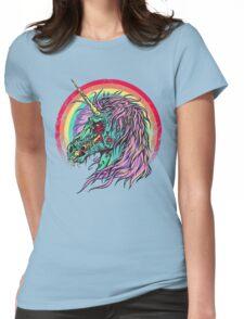 Zombie Unicorn Womens Fitted T-Shirt