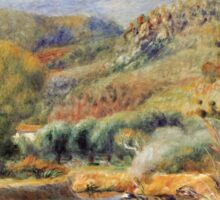Renoir Auguste - The Washerwoman Sticker