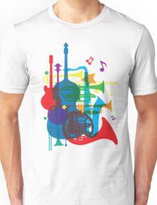 Jazz instruments Unisex T-Shirt
