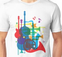 Jazz instruments Unisex T-Shirt