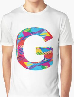 Fun Letter - G Graphic T-Shirt