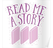 Read me a story Poster