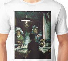 1885-Vincent van Gogh-The potato eaters-72x93 Unisex T-Shirt