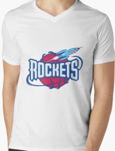 Houston Rockets Mens V-Neck T-Shirt