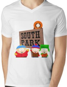 South Park  Mens V-Neck T-Shirt