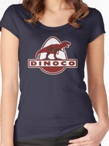 Dead Dinoco Women's Fitted Scoop T-Shirt