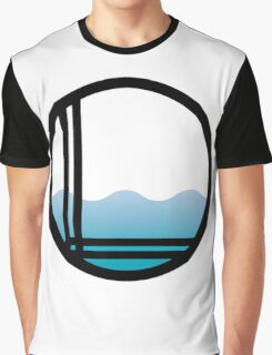 Lonely Ocean Logo Graphic T-Shirt