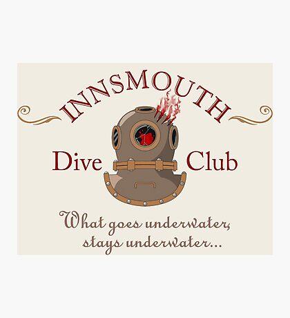 Innsmouth Dive Club Logo Photographic Print