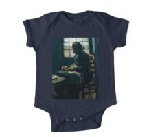 1885-Vincent van Gogh-Woman sewing-34x43 One Piece - Short Sleeve