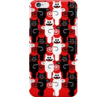 MARCHING CATS iPhone Case/Skin