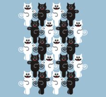 MARCHING CATS One Piece - Short Sleeve