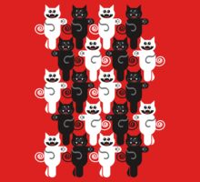 MARCHING CATS Kids Tee