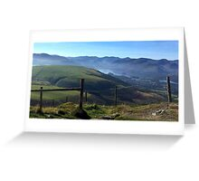 Derwent Water, the Lake District National Park, UK Greeting Card