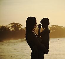 mother and child by wellman