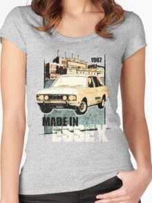 NEW Classic Mark 1 Ford Cortina Mens T-Shirt Women's Fitted Scoop T-Shirt